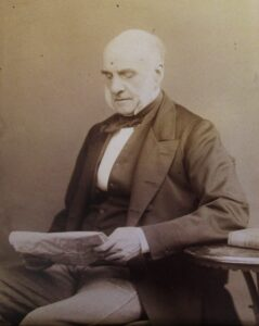 A photograph of Richard Faircloth from the Royal College of Surgeon's archives in London (see below or click image for source and acknowledgements etc., ref. Image 1).
