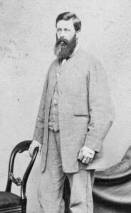 Floyd Minter Peck when about 40 years of age, after he'd emigrated in Australia (see below or click image for source and acknowledgements etc., ref. Image 1).