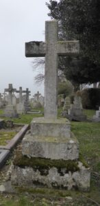 John Rowland Wright's grave in Newmarket cemetery (see below or click image for source and acknowledgements etc., ref. Image 4).