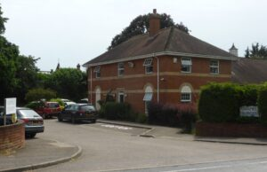 The entrance to Oakfield Surgery in 2019 (see below or click image for source and acknowledgements etc., ref. Image 2).