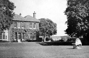 Oakfield House, after which the surgery was named, taken from roughly where the surgery was built (see below or click image for source and acknowledgements etc., ref. Image 1).