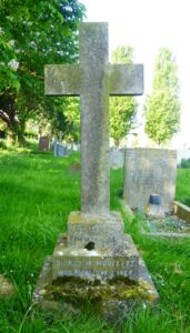 Sidney Winslow Woollett's grave in Newmarket cemetery (see below or click image for source and acknowledgements etc., ref. Image 2).