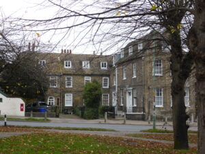 William Sandiver 2's House - today the right hand wing is called Sandiver House, the middle Stamford House and the left hand side Berner's House (see below or click image for source and acknowledgements etc., ref. Image 3).
