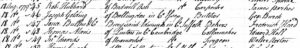 A record of tax being paid regarding Walter Norton's apprenticeship to John Edwards in 1779 - note date top left, Walter Norton bottom right (see below or click image for source and acknowledgements etc., ref. Image 1).